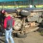 «Пострадавшая девочка сильно плачет в реанимобиле»: в Челябинске Audi въехала в УАЗ на парковке