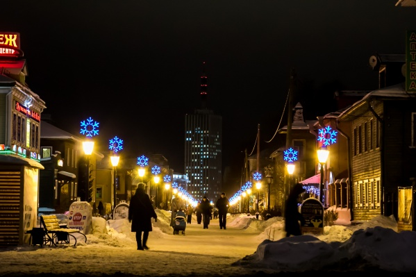 В новогоднюю ночь гулять архангелогородцам&nbsp;будет комфортно<br>