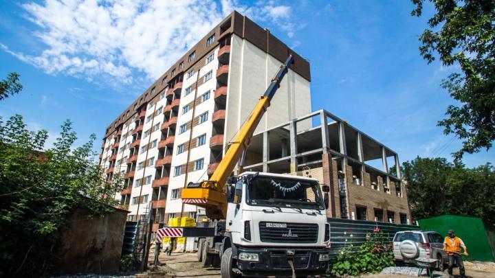 В Новосибирске стали строить меньше жилья