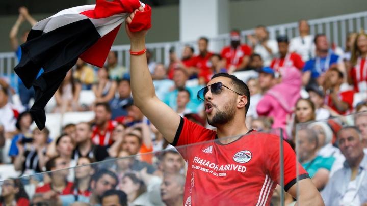 В Волгограде египетские болельщики освистали свою сборную у отеля