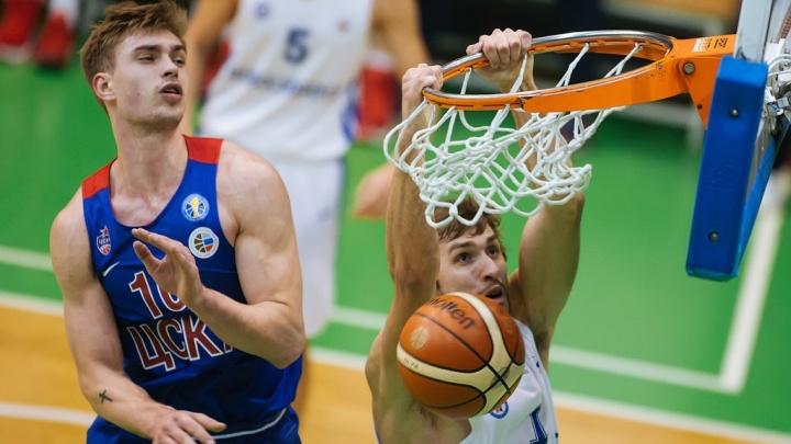 Баскетбол: БК «Новосибирск» одолел «ЦСКА-2» на Кубке России