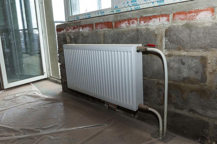 Если перенести радиатор, остальной дом рискует замерзнуть