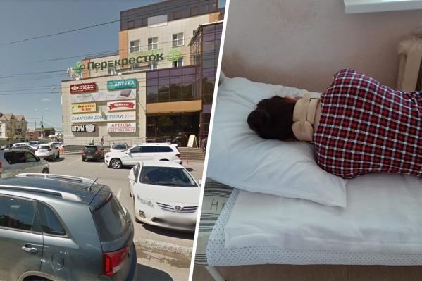 Женщина после ЧП попала в больницу