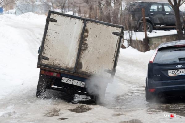 В Волгограде отремонтируют 46 дорожных участков в этом году