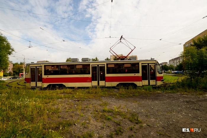 Трамвай в Верхнюю Пышму поедет с Эльмаша: до метро тут 200 метров