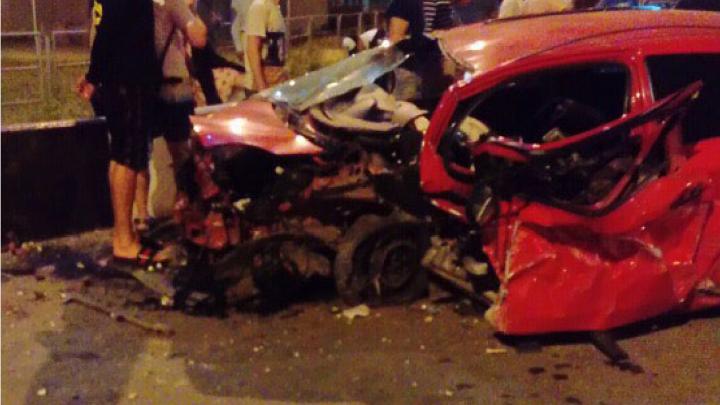От машины осталась груда металла: четверо молодых челябинцев разбились на Toyota возле Благодатово
