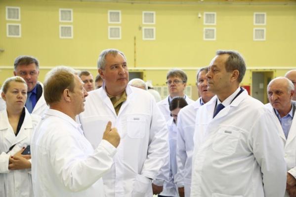 Приезд Дмитрия Рогозина в Омск ожидается на следующей неделе