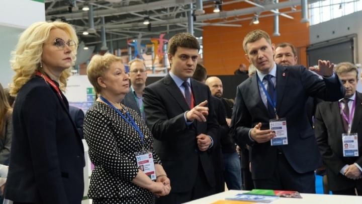 Лаборатории и 14 НИИ. Максим Решетников представил проект пермского научного центра