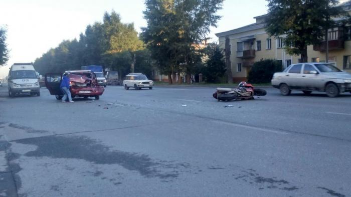 Авария случилась около 6 часов утра