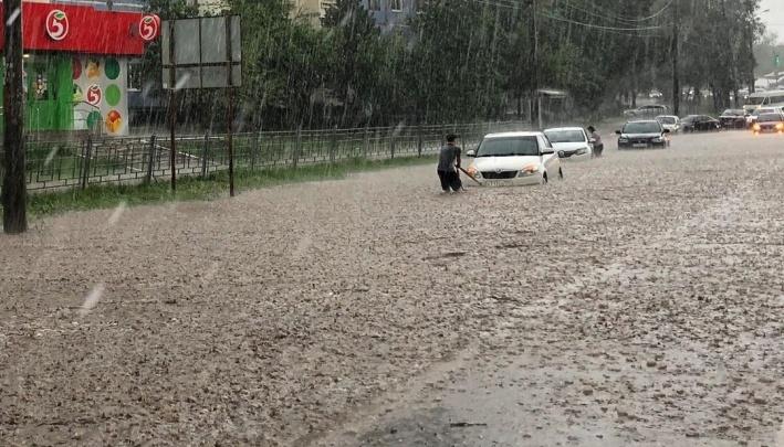 Ливневый рекорд: в Самаре зафиксировали абсолютный максимум по выпавшим осадкам