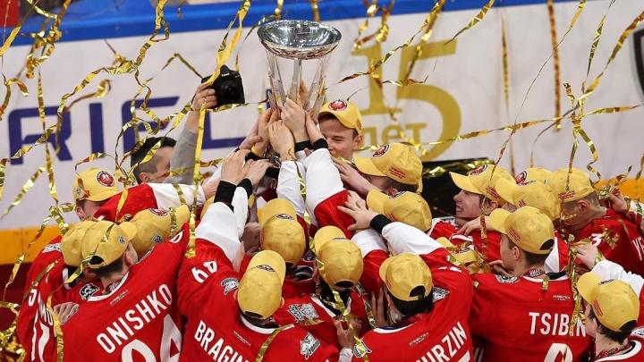 Хоккеисты «Авто» в составе команды Востока впервые за семь лет выиграли Кубок вызова