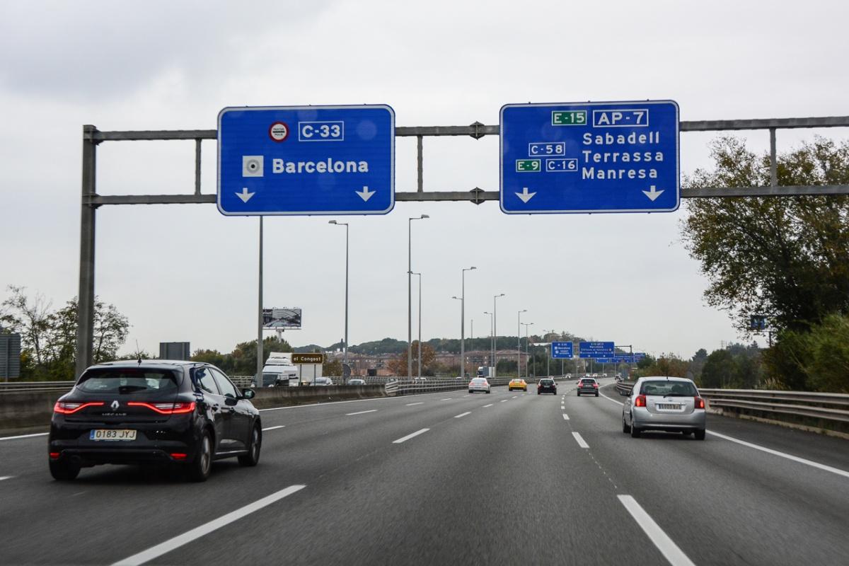 Дороги в Испании прекрасные до такой степени, что аж зло берёт