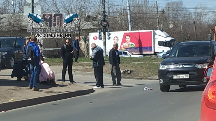 В Нижнем Новгороде водитель сбил 4-летнюю девочку, переходившую дорогу вместе с мамой