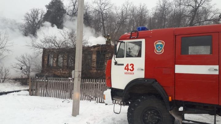 В канун Нового года в Башкирии погибли в пожарах четыре человека
