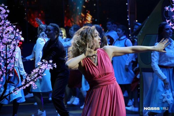 Анастасия, главная героиня мюзикла