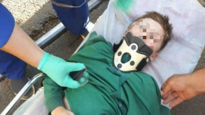 В Ярославле машина сбила мальчика — ребёнок без сознания