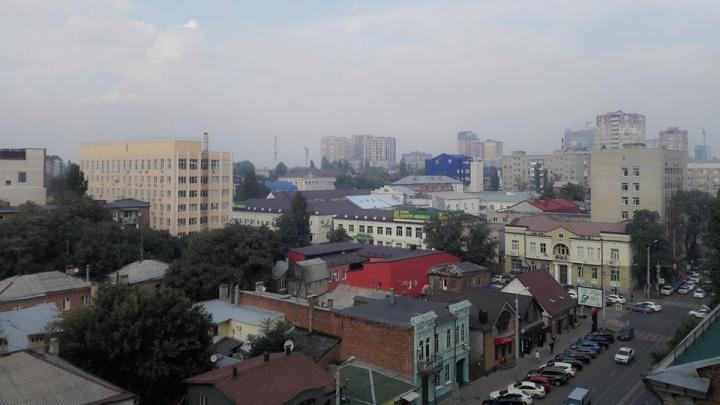Центр Ростова заволокло дымом, пахнет гарью: рассказываем, что произошло