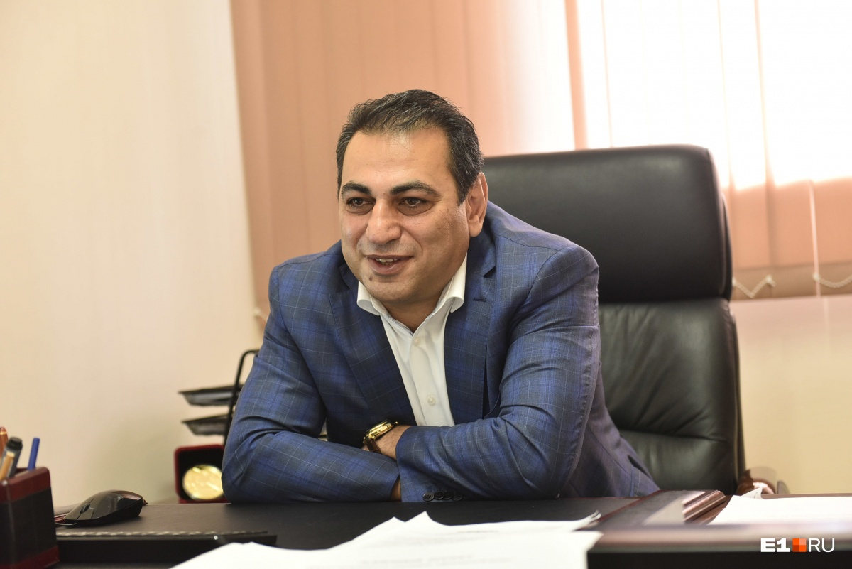 Директор Шахматной академии Альберт Степанян
