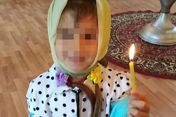 Девочка погибла в начале сентября