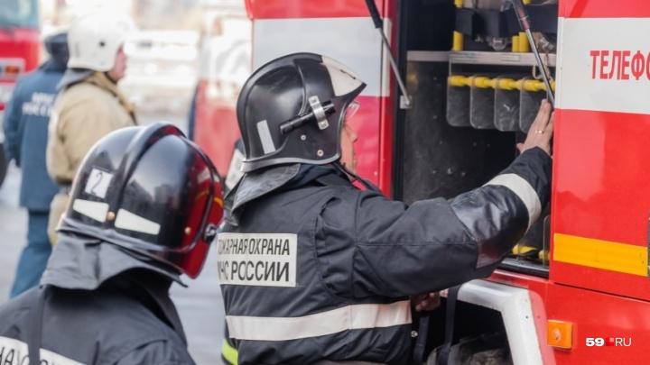 В Прикамье на пожаре погибла пенсионерка