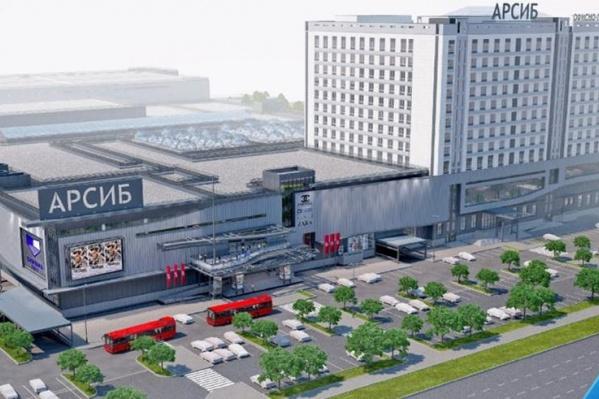 Проект предполагает снос торгового центра «Тюменский»