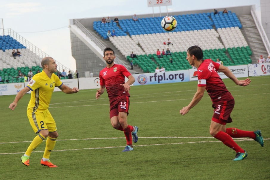 Спортсмены «Ростова» забили четыре гола в ворота уфимской команды