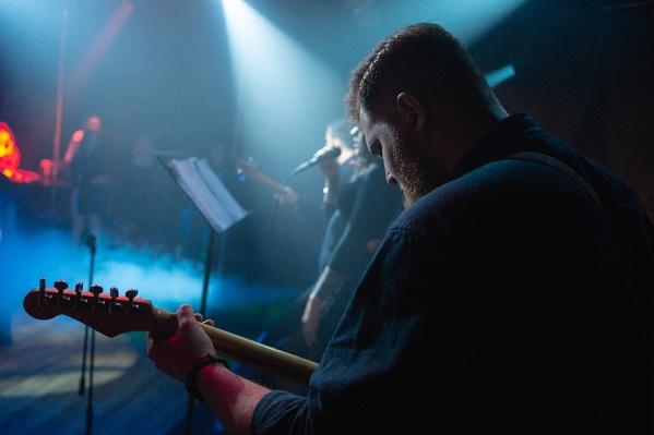Концерт проходил в новосибирском клубе«Бункер»