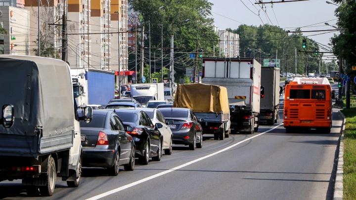 «НПАТ» утверждает, что время движения по выделенке на Гагарина сократилось в два раза