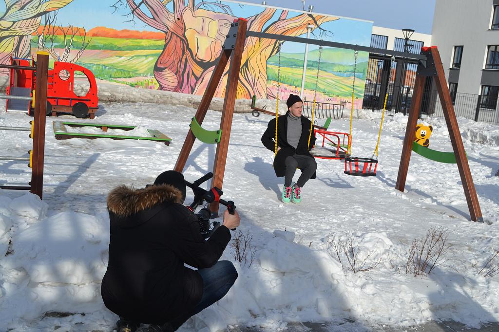 """Видеообзор квартир-студий в ЖК """"Клевер парк"""" от знаменитых тюменских блогеров"""
