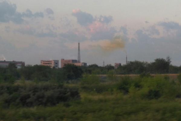 Жители Тольятти жалуются на грязный воздух