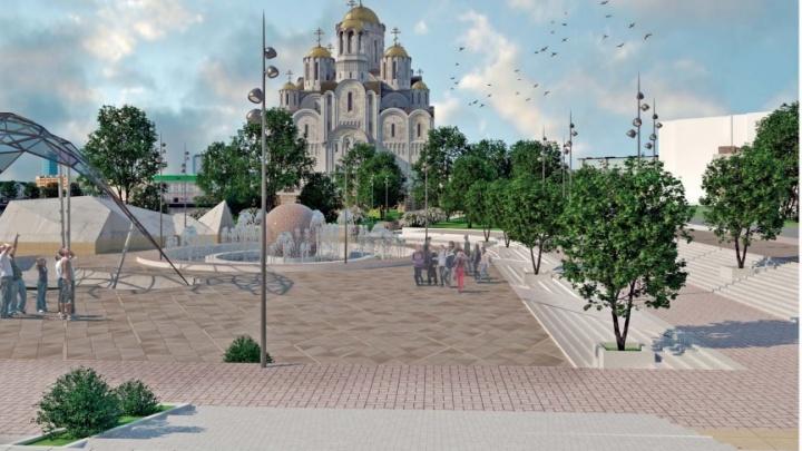 Новый полуостров или мост через пруд? Как изменится берег Исети ради Собора святой Екатерины