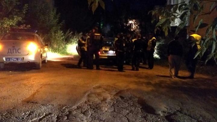В Перми экипажи ДПС преследовали ночью пьяного водителя. Видео