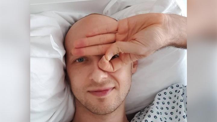Капитану волейбольного «Локомотива» сделали операцию в Германии