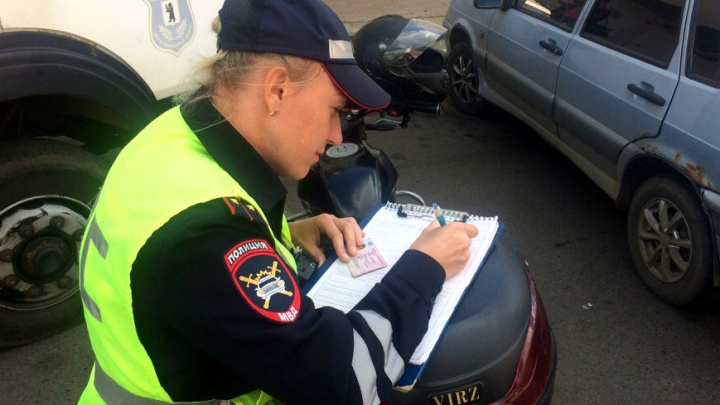 В Ярославле гаишники устроили облаву на неправильно паркующихся водителей