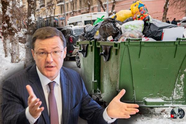 Губернатор сообщил, что большинство пожелали платить за вывоз ТКО по кв. метрам