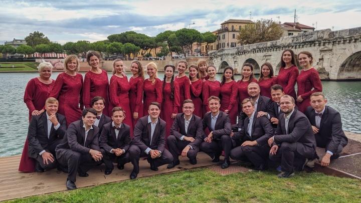 Хор УрФУ взял Гран-при на престижном конкурсе в Италии: посмотрите их выступление