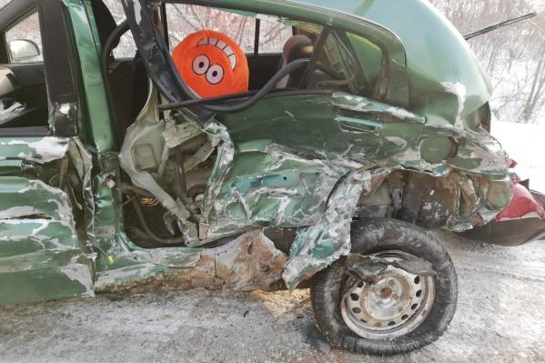 У всех машин большие повреждения