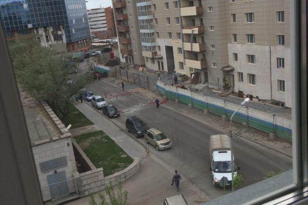Инцидент произошел вечером 24 мая на ул. Дмитрия Шамшурина