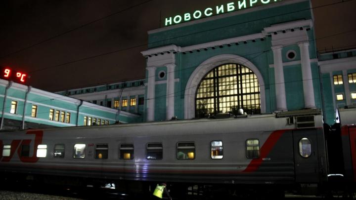 Просидели час: у экспресса «Новосибирск-Новокузнецк»отвалилось колесо после отправления