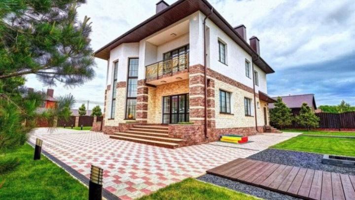 Стоимость — 60 миллионов рублей: как выглядит один из самых дорогих коттеджей Уфы