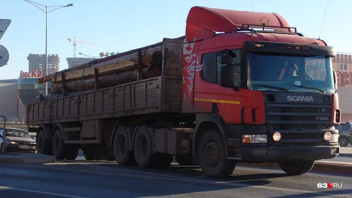 Колёса прочь! Самарские дороги закрыли для большегрузов