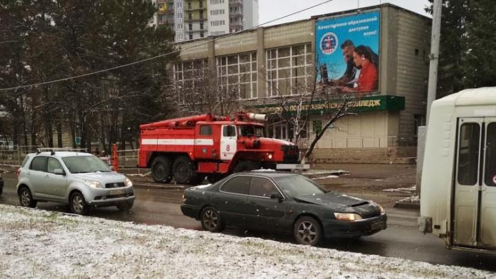 Из политехнического колледжа в Академгородке эвакуировали учеников