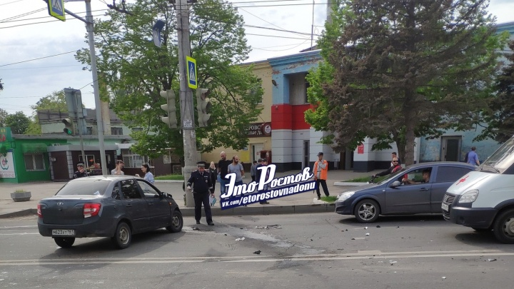 В Ростове из-за ДТП на улице Малиновского образовалась пробка