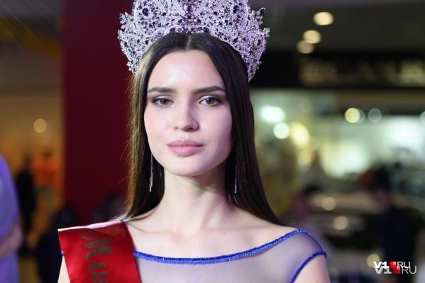 Организаторы конкурса в Волгограде говорят, что она очень хорошая девочка