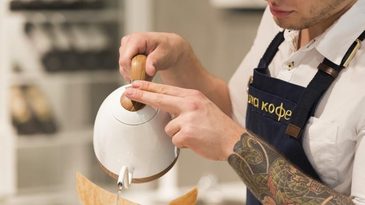 Латте из сифона: в популярном кафе начали варить кофе в колбах