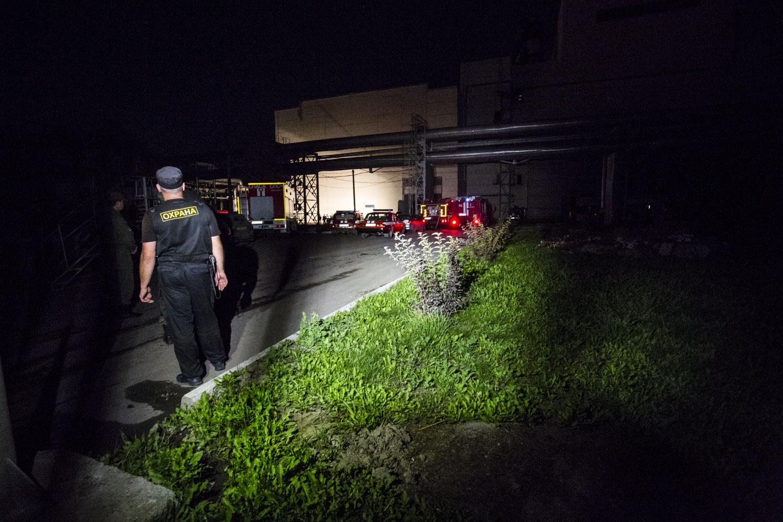 К половине второго ночи стало известно, что станция работает в штатном режиме, основное оборудование не повреждено