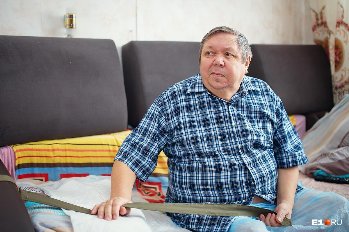 Сергей Иванович служил в ракетных войсках, подполковник