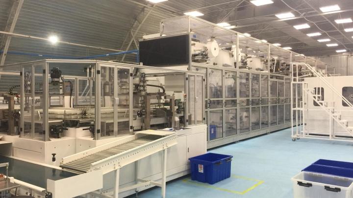 В Волгоградской области заработал китайский завод по производству подгузников