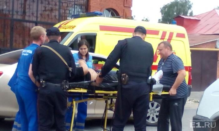 Пострадавших участников бойни из посёлка увозили на скорой