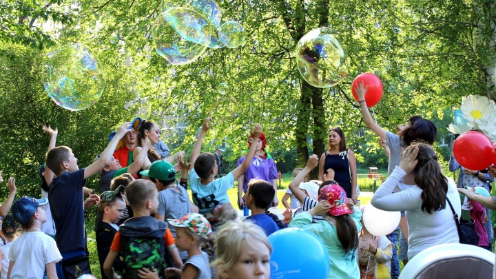 Газовики и сотрудники МЧС устроили познавательный День защиты детей